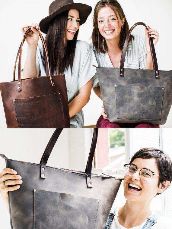 ba135c1bb234 Leather Tote Bag HUGE SALE - Leather Book Bag