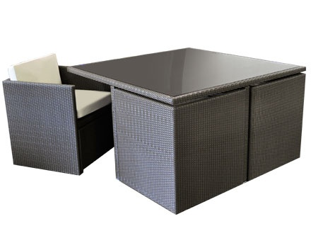 Perfect for small spaces this unique all weather wicker for Armchairs for small spaces