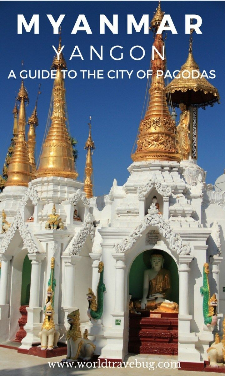 Yangon, Myanmar  The city of pagodas and colonial architecture #myanmar #southeastasia