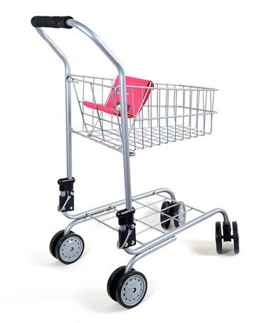 Take a look at this Pretend & Play Shopping Cart by Toys4usa on #zulily today!  Getting this 2-day! Can't resist it! I must take my doll-girl grocery shopping with this! 2-FUN!!