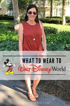 What to Wear to Disney World - lots of real life outfit ideas with product links!