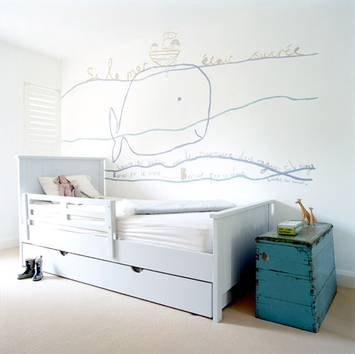 Fresh and fun take on a child's nautical theme - Room for Kids