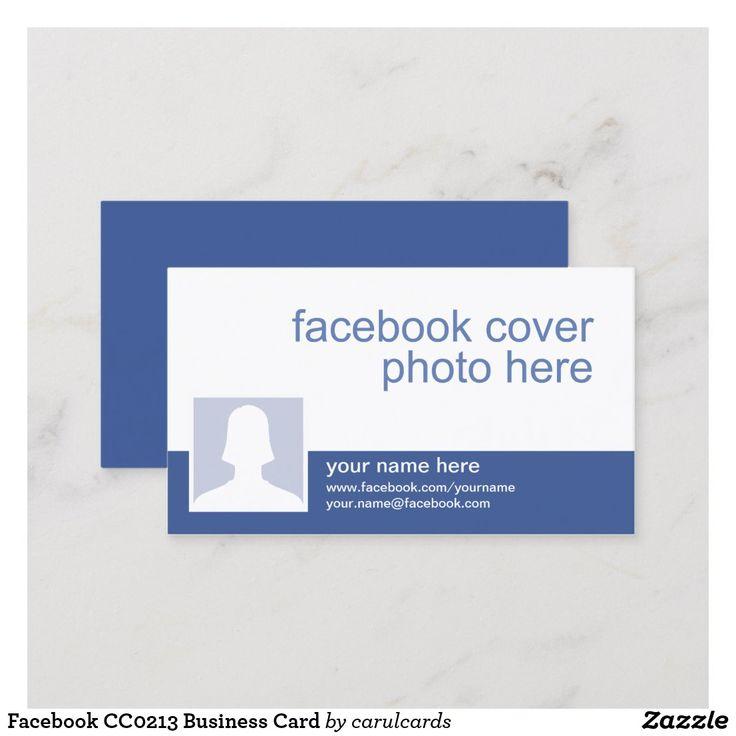 Facebook cc0213 business card facebook