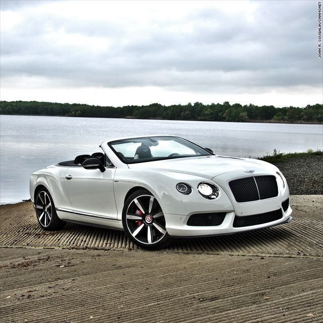 Bentley's turbocharged convertible