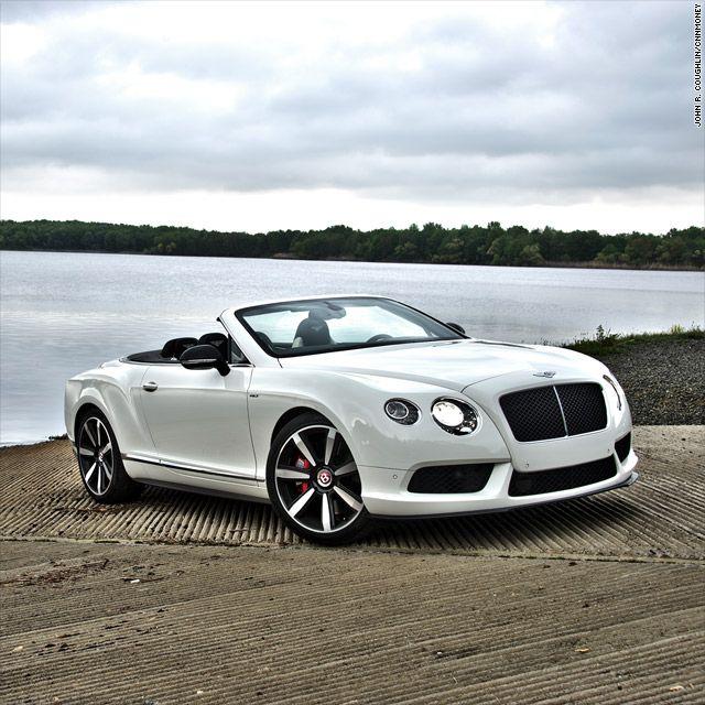Bentley's turbocharged convertible