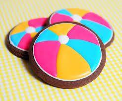 Strandbal koekjes