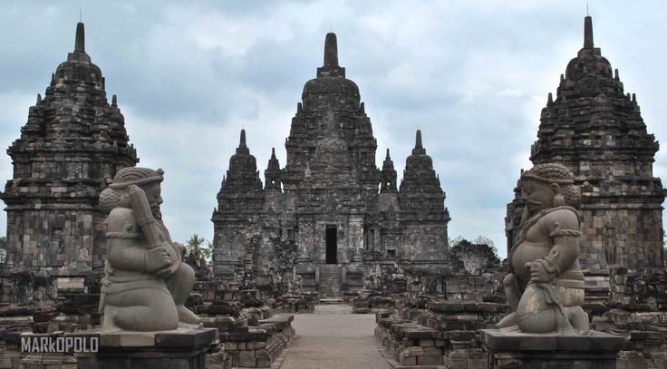 Sewu temple, yogya, Indonesia