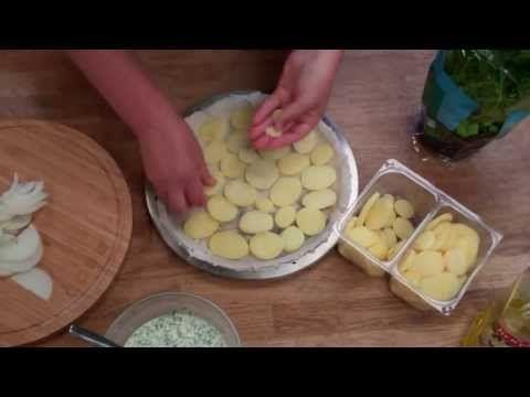 Aardappeltaart van de Cobb barbecue. Makkelijk en lekker!
