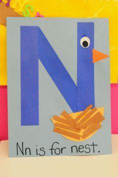 Image result for letter n craft