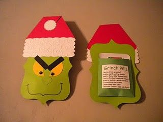 """Feeling kind of grouchy? Holiday Spirit can't be found?  Just try these little """"Grinch Pills"""" They're the best medicine around.  Whether eating a whole handful, or munching on one or two,  These tasty little """"pills"""" Take the Grinch right out of you!"""