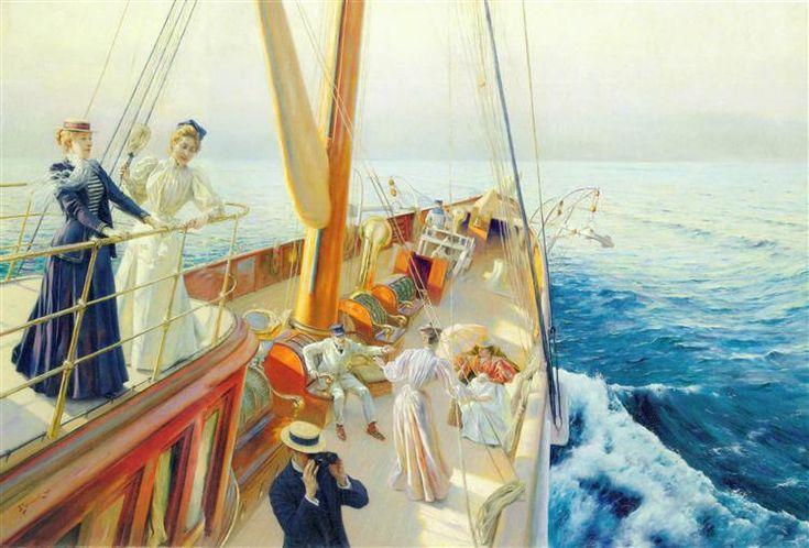 Yachting in the Mediterranean - Stewart Julius LeBlanc