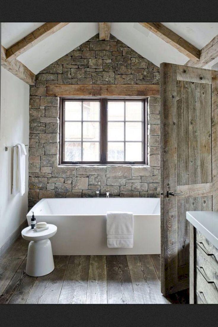 Gorgeous 70 Gorgeous Rustic Master Bathroom Remodel Ideas https://decorecor.com/70-gorgeous-rustic-master-bathroom-remodel-ideas