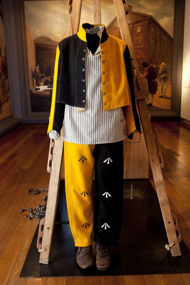 Australian convict uniforms