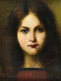 Image result for Georg Buchner, portrait of a young girl