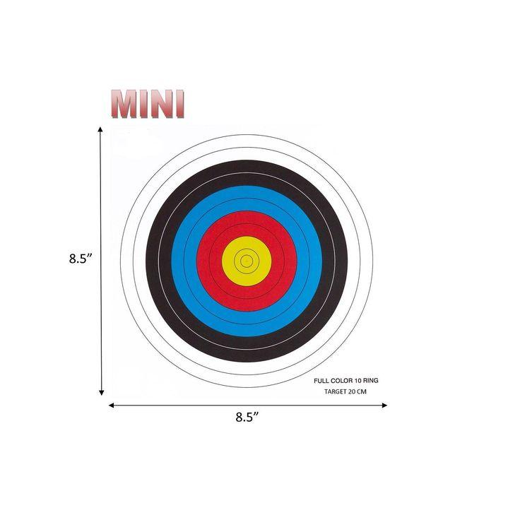 .30-06 10 Ring Mini Paper Target 100 Count