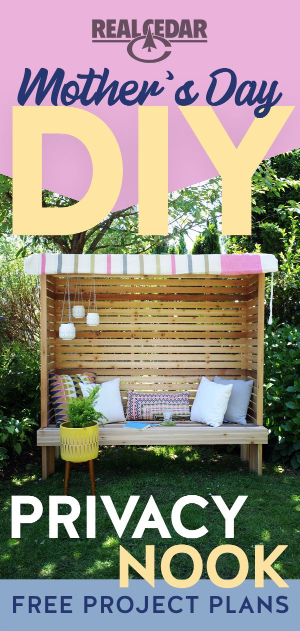Diy Reading Nook In 2020 Diy Projects Plans Backyard Decor Backyard Projects