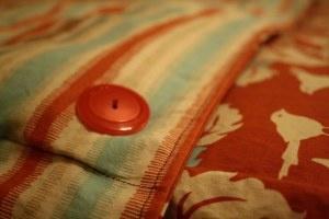 Homemade duvet cover