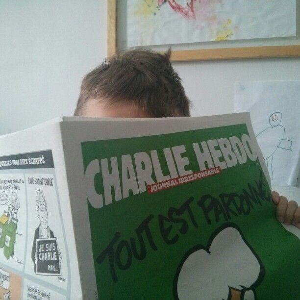 Je me dissocie complètement des lectures de mon fils.