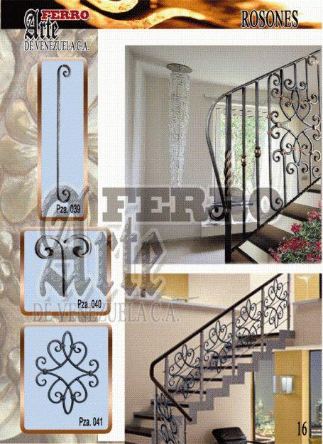 Detalles de figuras para escaleras de hierro de forjado - Escaleras de hierro ...