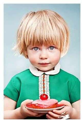 Amazing portraits of children by photographer Emile Vercruysse.