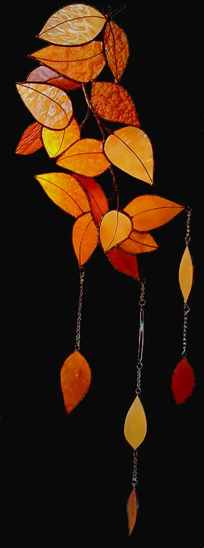 Would also look awesome with chandelier crystals dangling with the leaves!