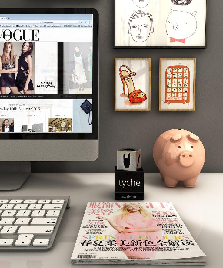 #tyche die on a fashionista #desk setting, design Elena Cutolo for #altreforme #festamobile #amoveablefeast #interior #home #decor #homedecor #furniture #aluminium #woweffect #madeinItaly