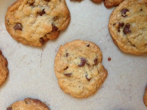 Edit 1/4 - No one has not LOVED these cookies. Bourbon and Sea Salt Chocolate Chip Cookies