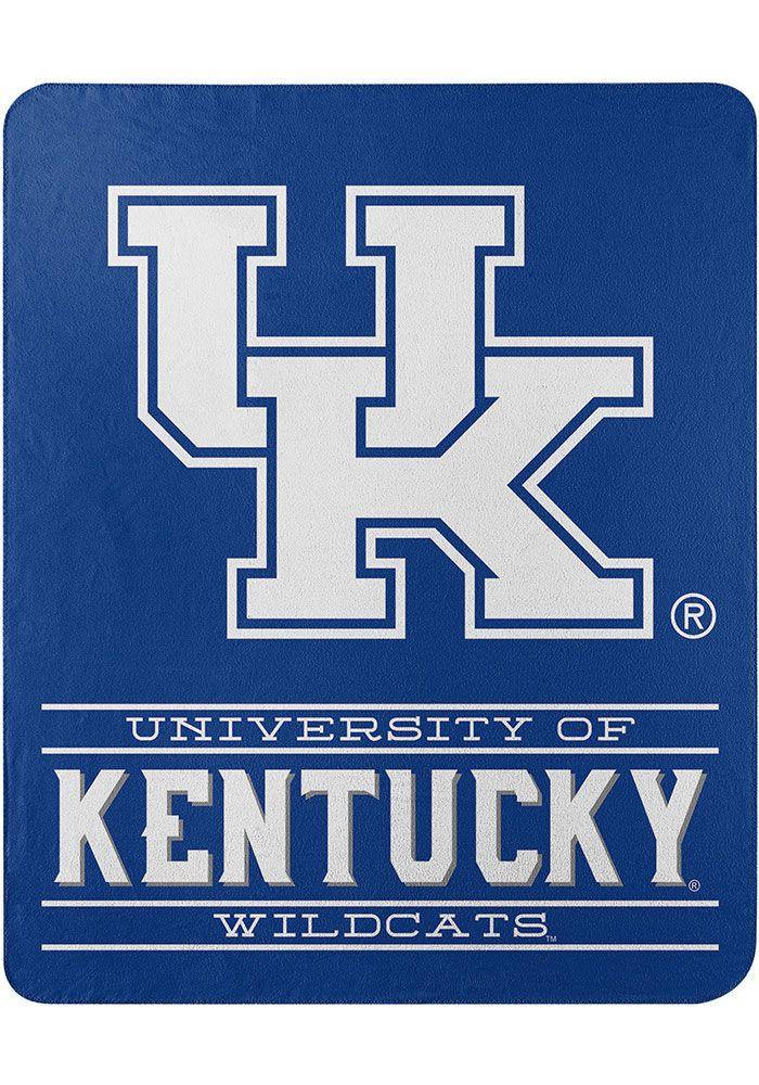 Kentucky Wildcats Control 50x60 Inch Fleece Blanket 5583239 In 2021 Kentucky Wildcats University Of Kentucky Man Cave Area Rugs