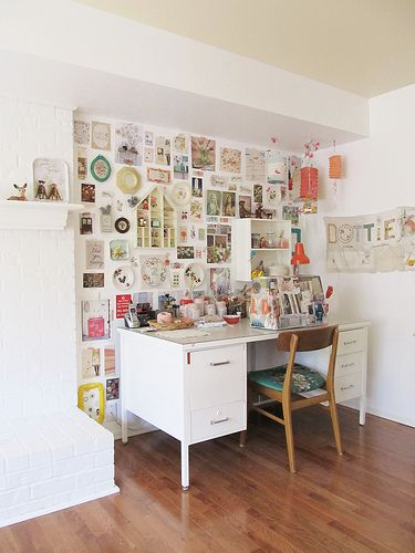 white space / inspiration wall