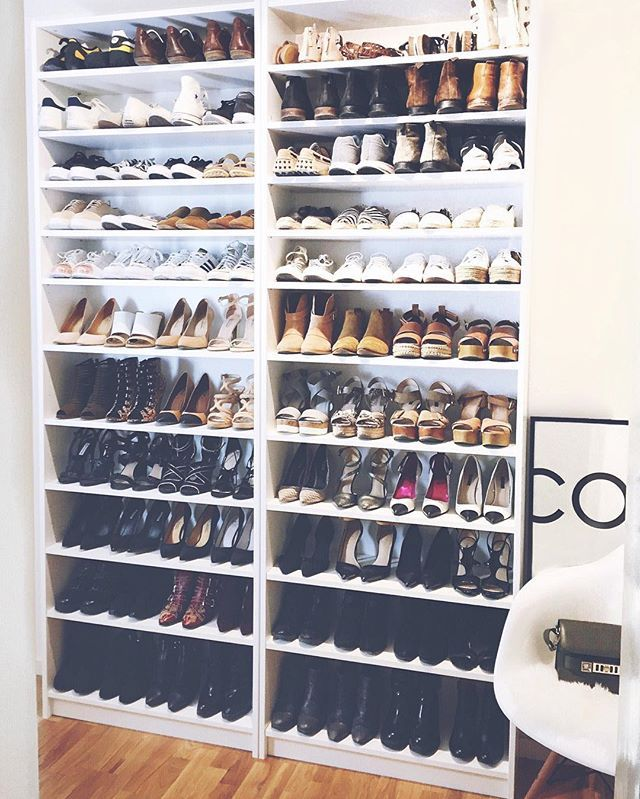 Welcome To My Walk In Shoe Closet!