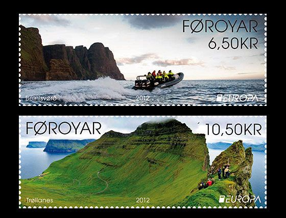 Europa 2012 - visit the Faroe Islands Set