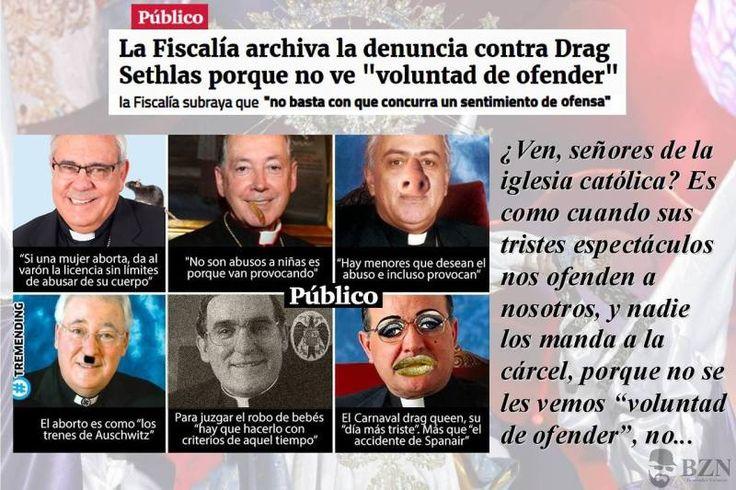 Humor   Archivada la denuncia contra Drag Sethlas por ofensa al sentimiento religioso - Nueva Revolución
