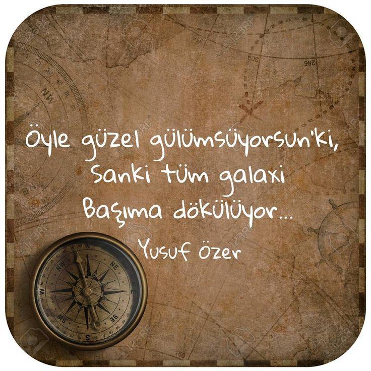 Öyle güzel gülümsüyorsun ki,  Sanki tüm galaxi  Başıma dökülüyor...   - Yusuf Özer  (Kaynak: Instagram - yusuf__ozer)  #sözler #anlamlısözler #güzelsözler #manalısözler #özlüsözler #alıntı #alıntılar #alıntıdır #alıntısözler #şiir #edebiyat