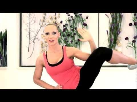Exercitiu pentru subtierea taliei (Lady Fit Home Edition DVD) - YouTube