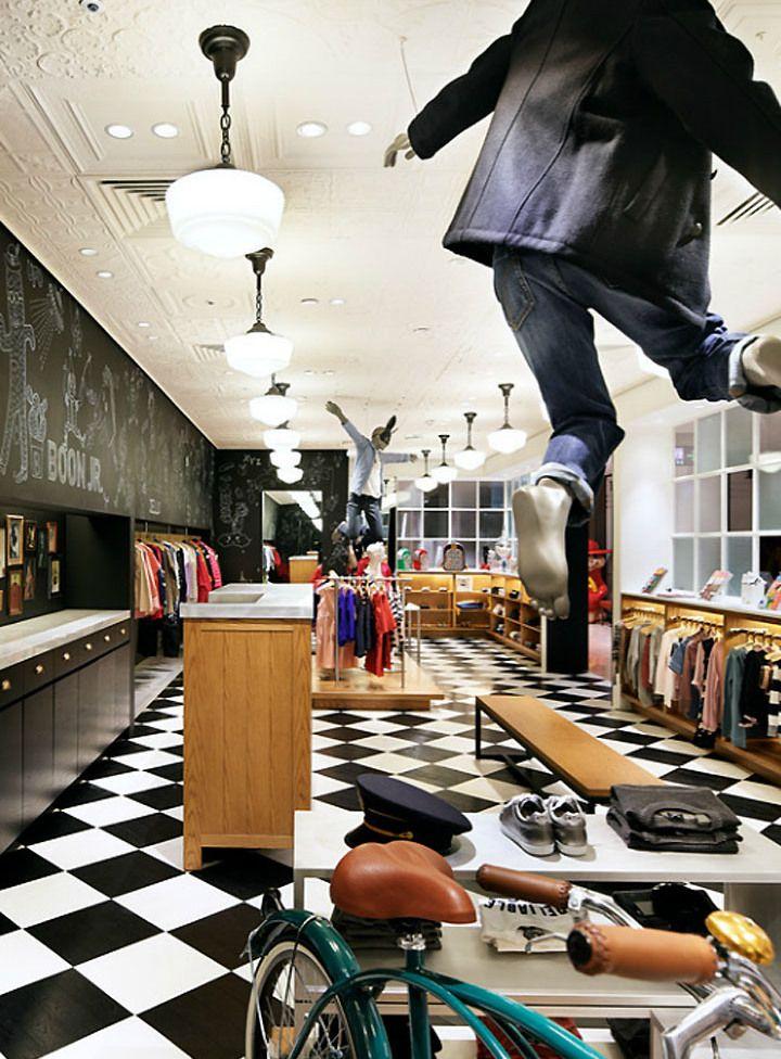 Amenajare magazin de haine pentru copii-idei,poze,renovare (1)