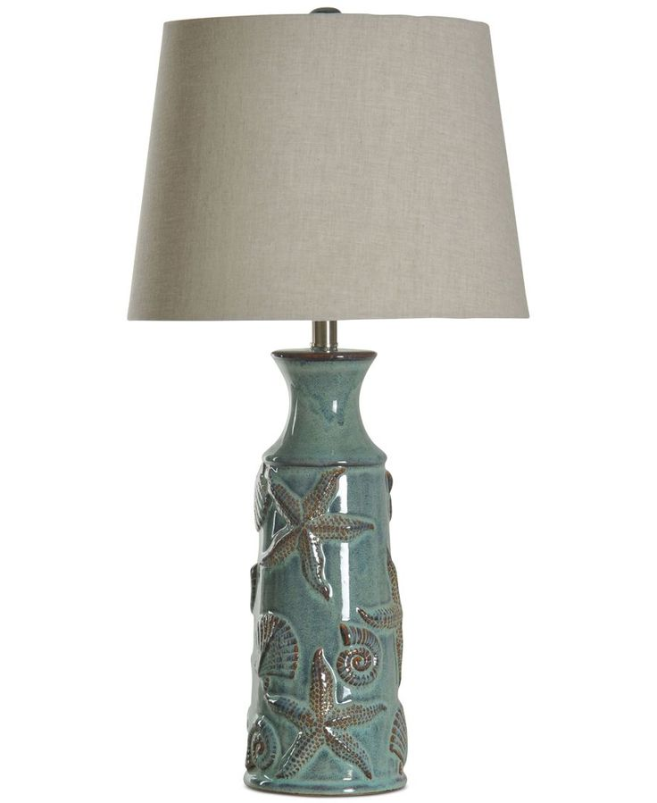 StyleCraft Nautical Ceramic Table Lamp