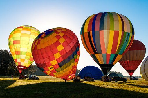 Image result for colorful hot air balloons