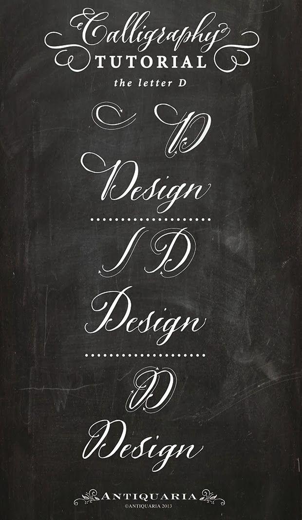 M�s de ideas sobre modern calligraphy tutorial en