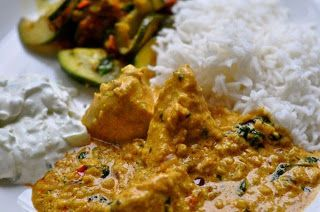 Cookie crumble: Chicken Korma