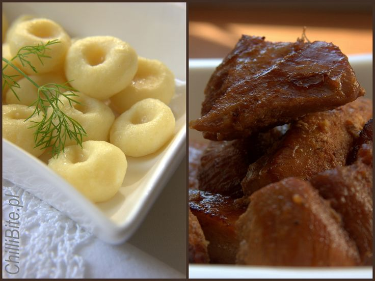 ChilliBite.pl – motivates !: Silesian cooking noodles and baked pork ribs