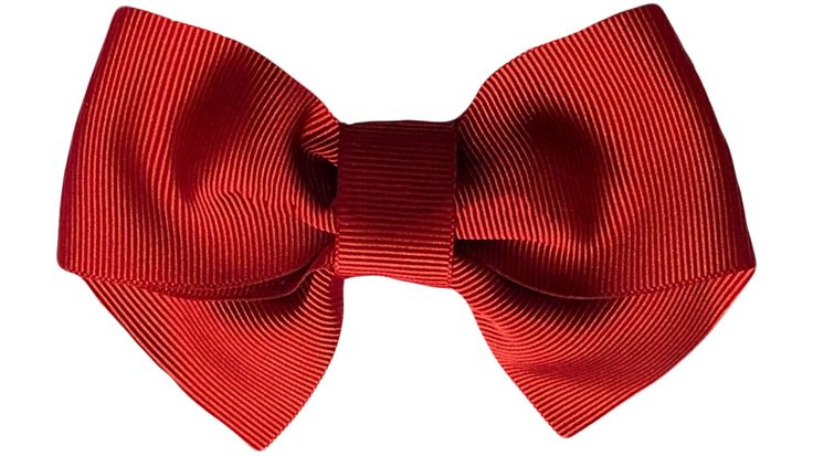 Virkotie RED Hair Bow by Virkotie2014 on Etsy
