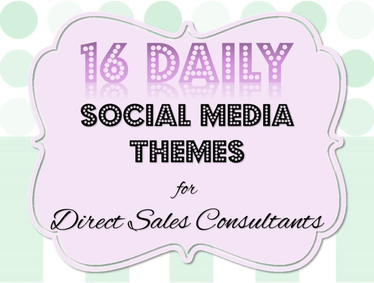 Daily themes make planning your posts easier, your fans can engage more and your posts are more searchable by using #hashtags.