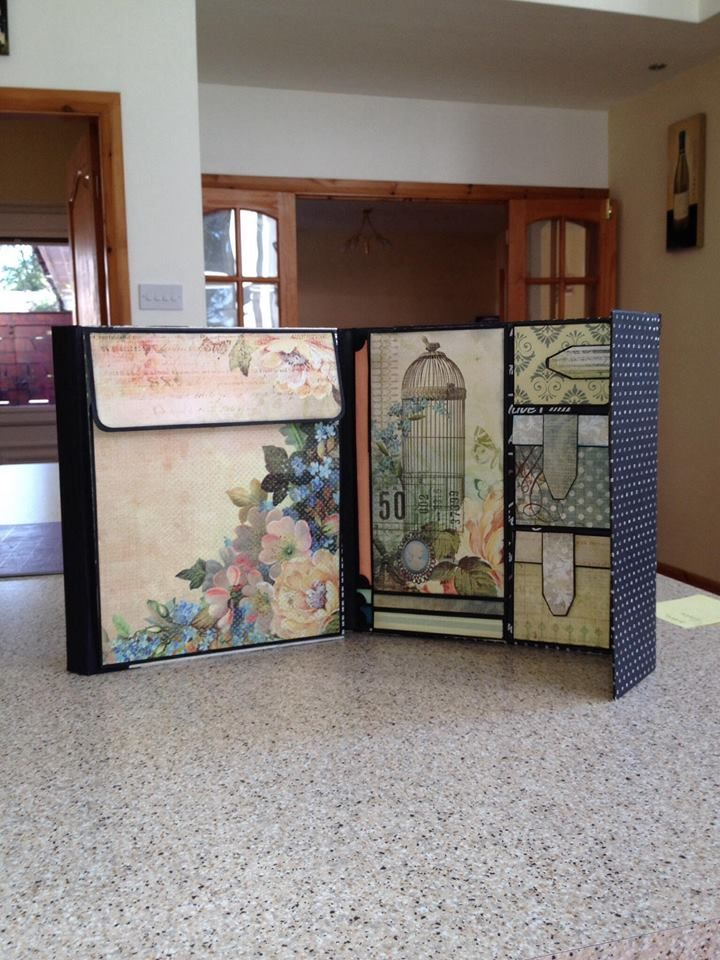 Mini Album by Jill-Brogden (Design by Kathy Orta)