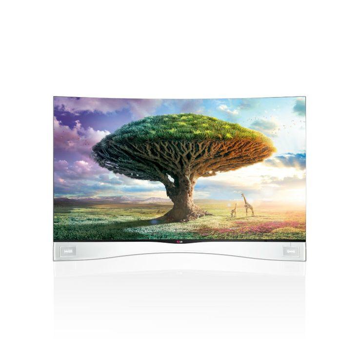 Best Buy LG Electronics 55EA9800 Cinema 3D Curved OLED TV with Smart TV