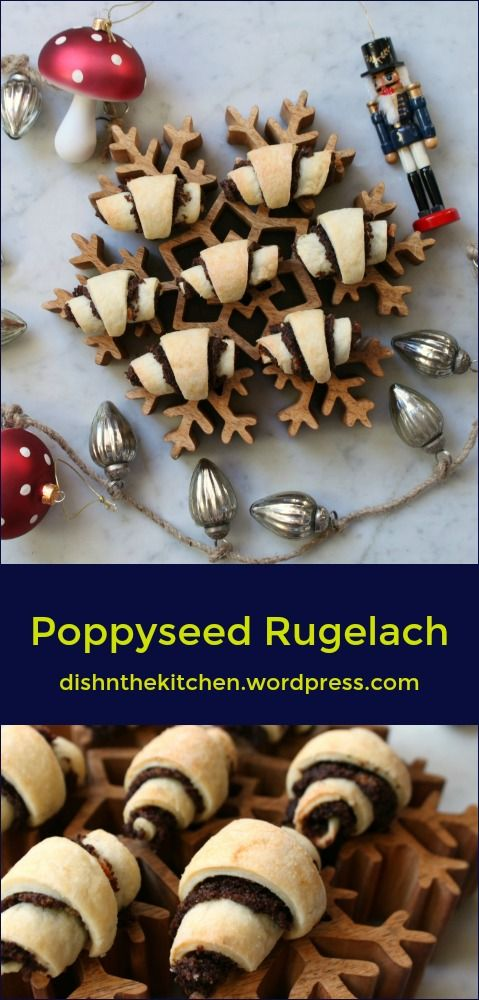 Flaky Cream Cheese pastry surrounds a delicious Poppy Seed Filling