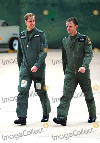 Prince William Prince William and Prince Harry Defence Helicopter Flying School Training-photocall-raf Shawbury (Royal Air Force), Shrewsbury , England United Kingdom 06-18-2009 Photo by Mark Chilton-richfoto-Globe Photos, Inc.