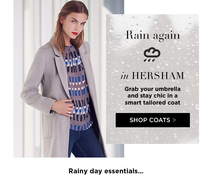 Email subject line was:  Your fashion forecast with 25% off Content was linked to the weather forecast for my location...