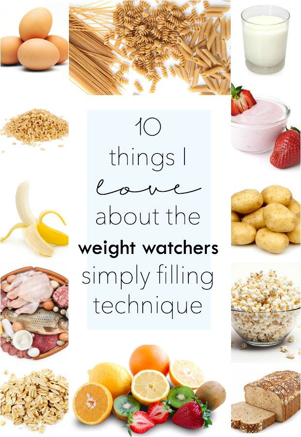 10 Reasons I Love the Weight Watchers Simply Filling Plan
