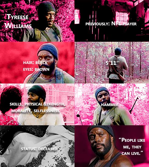 Knowing About Tyreese Williams #TWD