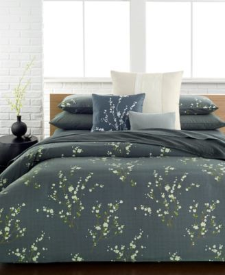 Calvin Klein Pyrus King Duvet Cover Set $365.00 The delicate floral motif on Calvin Klein's Pyrus king duvet cover set lends your bedroom an inviting, sophisticated look.